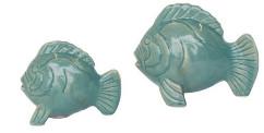 Urban Nature Culture - Jade Fish Shape Salt and Pepper Shaker - ceramic | plastic | jade - Jade
