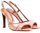 L'Autre Chose LAutre Chose Patent Leather Sandals