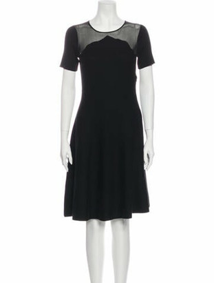 Oscar de la Renta 2019 Knee-Length Dress Wool
