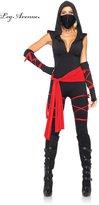 Leg Avenue Women's 5 Piece Deadly Ninja Costume
