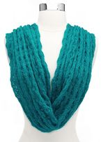 Charlotte Russe Cable Knit Infinity Scarf