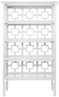 David Francis Furniture Sobe Etagere - White
