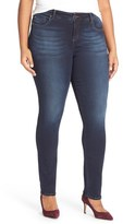 KUT from the Kloth 'Diana' Stretch Skinny Jeans (Brisk) (Plus Size)