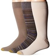 Gold Toe Men's Fashion Crew Extended Size Socks (Pack of 3)