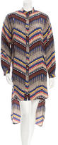Mara Hoffman Long Sleeve Printed Shirtdress w/ Tags