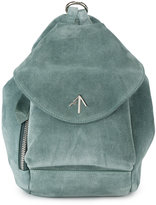 Manu Atelier Fernweh Mini Suede Backpack