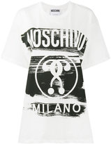 Moschino question mark print t shirt