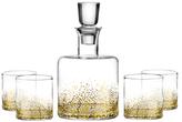 Fitz & Floyd Luster Whiskey Decanter Set (5 PC)