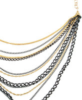 Multi Black Chain Necklace