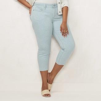 Lauren Conrad Plus Size Skinny Crop Jeans