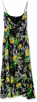 Forever 21 Women's Plus Size Tropical Maxi Dress