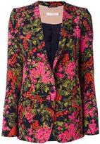 Ssheena - flower print blazer - women - Polyester/Spandex/Elastane/Viscose - 38