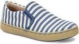 Børn Richie Stripe Printed Canvas Slip-On Sneakers
