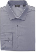 Kenneth Cole Reaction Men's Tall Size Technicole Slim Fit Stretch Solid Spread Collar Dress Shirt