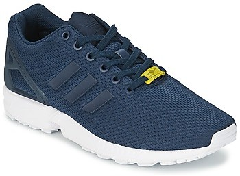 low priced 9e4e7 e3af1 ZX FLUX men's Shoes (Trainers) in Blue