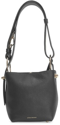 Strathberry Nano Lana Leather Hobo Bag