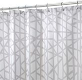 InterDesign Abstract Fabric Shower Curtain