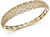 Bloomingdale's Diamond Bangle in 14K Yellow Gold, 3.45 ct. t.w. - 100% Exclusive
