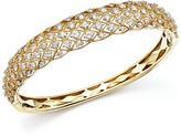 Bloomingdale's Diamond Bangle in 14K Yellow Gold, 3.45 ct. t.w.