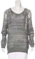 IRO Scoop Neck Long Sleeve Sweater