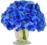The French Bee 10 Hydrangea in Vase, Faux