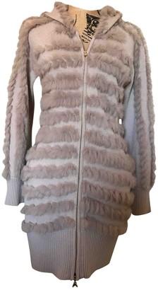 Patrizia Pepe Beige Rabbit Knitwear for Women