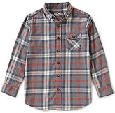 First Wave Big Boys 8-20 Plaid Flannel Shirt