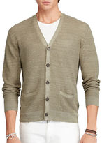 Polo Ralph Lauren Linen-Silk V-Neck Cardigan