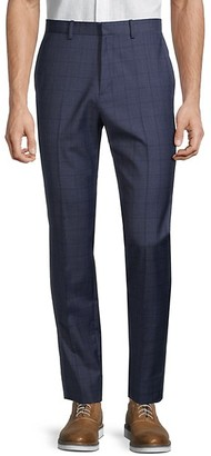 Theory Jake W Windowpane Plaid Pants