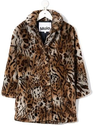 Molo Hali cheetah coat