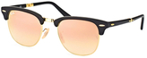 Ray-Ban Clubmaster Frame with Gradient Lens