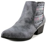 Jellypop Mercer Women Pointed Toe Synthetic Gray Ankle Boot.