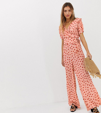 Lily & Lionel Exclusive wide leg trousers in cosmos