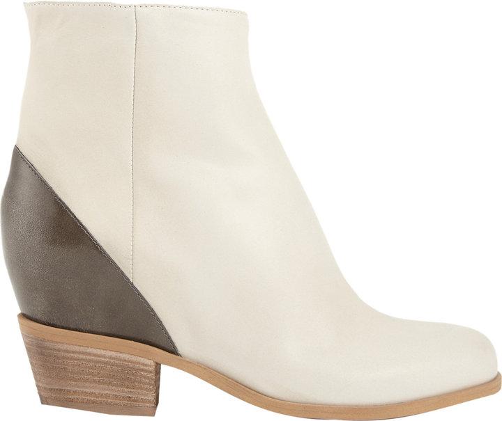 Maison Martin Margiela Colorblock Hidden-wedge Ankle Boots