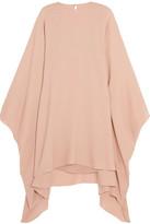 Valentino Stretch-silk Georgette Mini Dress - Neutral