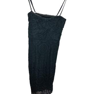 Burberry Green Lace Dress for Women