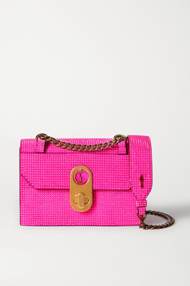 Christian Louboutin Elisa Mini Leather Shoulder Bag - Pink