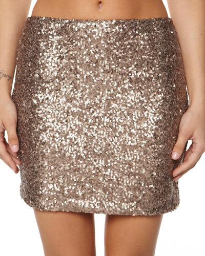 Ladakh Glamour Sequin Skirt
