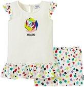 Moschino T-shirt and Shorts Set (Toddler/Kid) - White - 3 Years