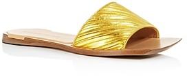 Bottega Veneta Bottega Venetta Women's Square Toe Slide Sandals