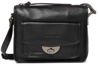 Tignanello Hampshire Hobo Leather Crossbody Bag