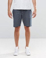 French Connection Oxford Stripe Chino Short