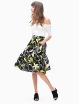 Splendid Tropic Floral Skirt