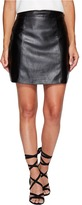 Bishop + Young Vegan Leather Skirt Women's Skirt