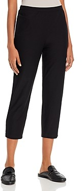 Eileen Fisher Petite System Tapered Cropped Pants
