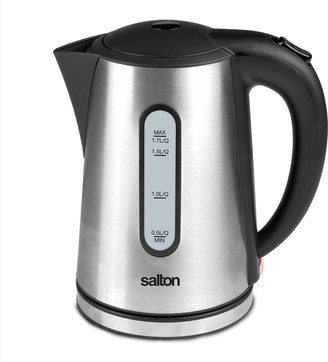 Salton 1.7-Liter Stainless Steel Electric Teakettle