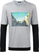 GUILD PRIME photographic layered T-shirt