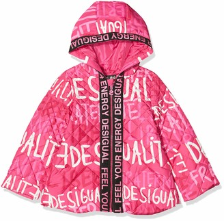 Desigual Girls' Coat CIRUELA
