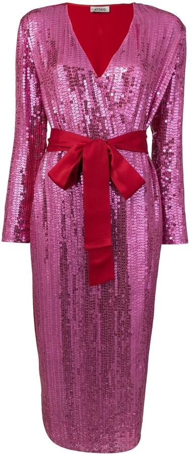 ATTICO sequin dress