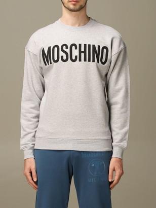 Moschino Crewneck Sweatshirt With Mirror Print
